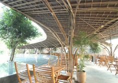 Bamboo Dome cafe wNw By Vo Trong Nghia – 19   Designalmic