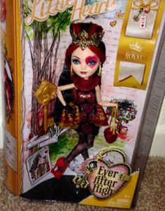 EVER AFTER HIGH Lizzie Hearts NEW In Hand