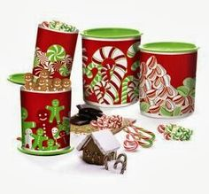 HI-HO HI-HO WITH TUPPERWARE WE GO: SAVE OVER 50% on this Candy Cane One Touch® Canisters set While Supplies Last!  www.my.tupperware.com/lindacwilson