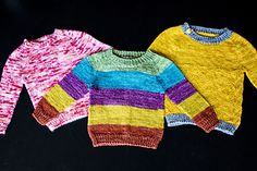 Ravelry: Little Nugget Sweater pattern by Knitting Expat Designs