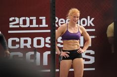 This is what 147lbs at 5'5'' looks like. You don't have to weigh 120 pounds to be fit. Former gymnast, ANNIE THORISDOTTIR, CrossFit Games Champion. http://games.crossfit.com/athlete/18588
