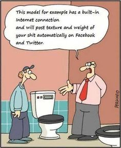 """Funny Pictures About """"Social Media"""" - Jokes Etc - Nigeria Adult Cartoons, Adult Humor, Funny Cartoons, Funny Jokes, Cartoon Quotes, Hilarious Quotes, Cartoon Cartoon, Facebook Humor, Facebook Status"""