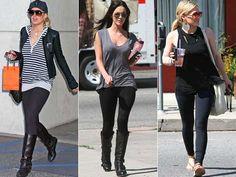 Como Usar Legging Preta: Looks, Modelos, Dicas, Fotos