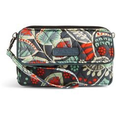443b41e2d8 Vera Bradley All in One Crossbody and Wristlet for iPhone 6+ in.