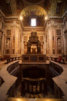 Borghese Chapel Basilica di Santa Maria Maggiore Rome Italy
