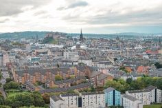 View of Edinburgh • The 3 Best Free Tours in Edinburgh, Scotland | The Wanderful Me