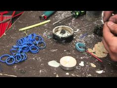 ▶ Lost Wax Casting - High School metal shop - YouTube ... resizing a ring from a size 8 wax mold into a size 10