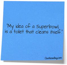 What A Superbowl Should Be