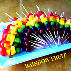 Healthy snack for the kids at school, although we are making some mini cup cakes too. This is a fun way to present a healthy snack!