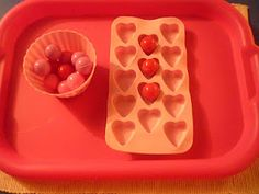 "Valentine's Day-inspired Montessori activities: from The Work Plan blog, ""A journal of observations with children guiding with the Montessori Method."" - Re-pinned by @PediaStaff – Please Visit http://ht.ly/63sNt for all our pediatric therapy pins"