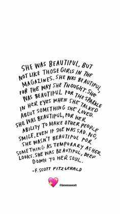 She was beautiful ♥️