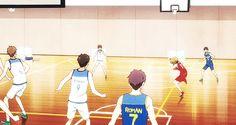 Gekkan Shoujo Nozaki-kun || Seo Yuzuki on the basketball court (*≧艸≦)