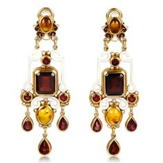 Gojee - Renaissance Earrings by Diego Percossi Papi