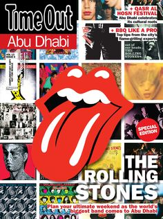 The Rolling Stones Special Edition.  Qasr Al Hosn Festival + BBQ Like a Pro