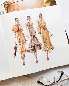 Fashion design sketches 551972498082808984 - johannaortizofficial Source by lulugoestohogw Fashion Sketchbook, Fashion Illustration Sketches, Illustration Mode, Fashion Sketches, Medical Illustration, Art Sketchbook, Dress Design Drawing, Dress Drawing, Manga Drawing