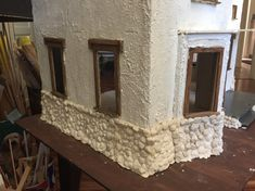 Diy Dollhouse, Dollhouse Miniatures, Foundation Piecing, Paperclay, Mirror, World, Creative, Projects, Blog