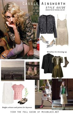 Style Guide: Cassie Ainsworth (Skins)