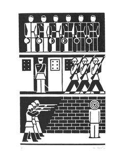 works of Gerd Arntz pinned by Awake — http://designedbyawake.com #isotype #icon #pictogram #graphic #design #simplicity #geometry