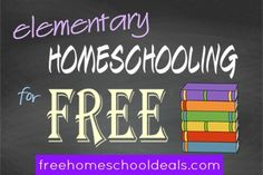 Free homeschooling resources!  Coloring pages, Bible printables, lots of other printables.  :)