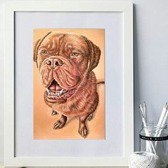 Ready for that beautiful, unique gift? The one every pet lover will adore? Order a custom pet portrait today!