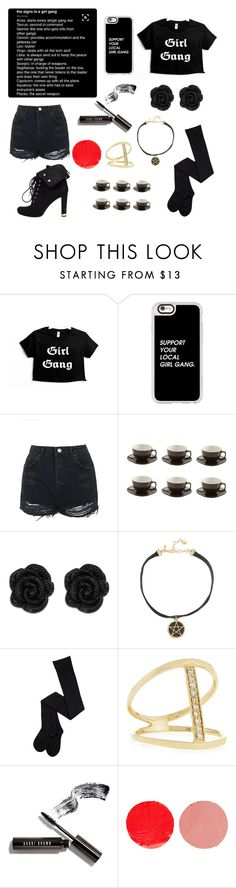 """""""Girl Gang"""" by tiffany-blue-tardis ❤ liked on Polyvore featuring Casetify, Topshop, Price & Kensington, Vanessa Mooney, Sydney Evan, Bobbi Brown Cosmetics, Wander Beauty and Louis Vuitton"""