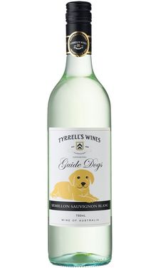 Tyrrells Guide Dogs Reserve Semillon Sauvignon Blanc NV Australia - 12 Bottles White Wines, Reserve, Wine Guide, Guide Dog, Tropical Fruits, Sauvignon Blanc, Bottles, Alcohol, Australia