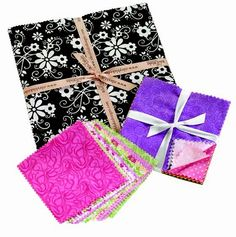 Why choose #precut #fabric for #sewing, #quilts and #crafts?   Source - Patchwork Bags from Precuts: Basics Plus 5 Projects
