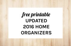 WEEKLY PLANNERS ARE ONE OF THE MOST POPULAR TOOLS FOR GETTING ORGANIZED, AND I MUST SAY, THEY&#...