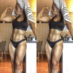 Fit Black Girls! — regularninjafit: Sexy and Fit Saturday IG...