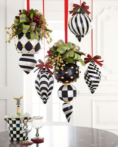 Jumbo+Capiz+Christmas+Ornaments+by+MacKenzie-Childs+at+Horchow.