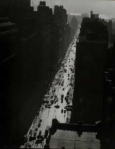 7th Avenue from 35th St. Berenice Abbott, New York