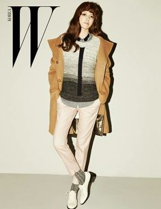 Sooyoung SNSD ★ Girl Generation - W magazine oktober issue