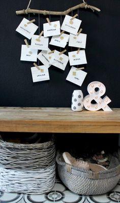 DIY Date Kalender zum Valentinstag