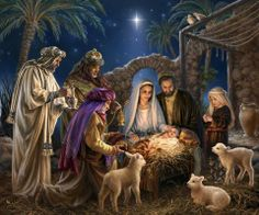 This is what Christmas is all about.   OH HOLY NIGHT!  Merry Christmas Dona Gelsinger artist