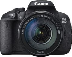 Amazon India listing Canon EOS 700D DSLR camera with 18-megapixel sensor, 18-135 mm Lens, 8GB SD card and camera bag for Rs 37,516.