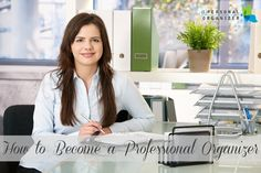 Have you ever wondered how to become a professional organizer? Geralin Thomas, CPO-CD offers Pro Organizer training to get you on the path to success!