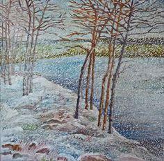 Anna Wagner-Ott, February's Storm on ArtStack
