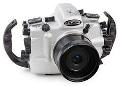 SEACAM Silver Nikon D810 Underwater Housing - from Optical Ocean Sales #underwaterphotography #scuba #diving