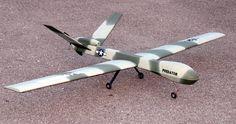 4 Channel Predator/Reaper Style UAV Drone RC Plane W/Brushless Motor