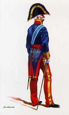 Regno di Spagna - Teniente General en Uniforme de Gran Gala. España 1815