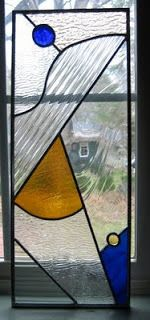 Abstract Stained Glass Pattern | Crea-Fen Stained Glass (Teom)