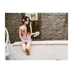 @findyourcalifornia @polkohontas #NYC   Vanessa Hudgens