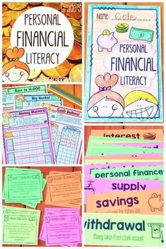 Personal Financial Literacy - Teacher Trap... great for new TEKS