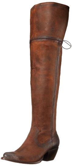 FRYE Women's Sacha Over-The-Knee OILNU Western Boot *** See this awesome image  : Over the knee boots