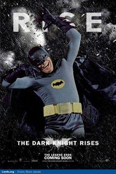 Adam West In The Dark Knight Rises