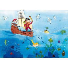 Puzzle en bois - Art maxi 24 pièces - Vanvolsem : Les pirates - PMW-W151-24