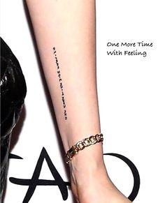 """runningwithnails: """"Kristen's new tattoo """""""