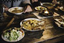 Tartines et soupe de poissons en Islande