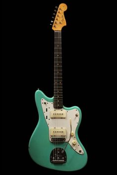 Love this 1961 Sea Foam Green Jazzmaster. If you have to ask...