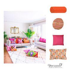 Da un toque de #alegría y optimismo a tu decoración con colores intensos y estampados coloridos.🤩⚡️💥 Cambiando los cojines puedes dar un aire totalmente nuevo a tu vivienda para afrontar el nuevo curso. 🥳  En www.yourcushion.es podrás diseñar tus cojines a medida, elijiendo entre más de 500 telas con diferentes estampados y texturas.  #Cojinesamedida #Redecora #Colorescítricos #Colorblock #Ideasdeco #Cojinescilíndricos #Terciopelo #Estampados #Ideasdecoración #Cojinessofa